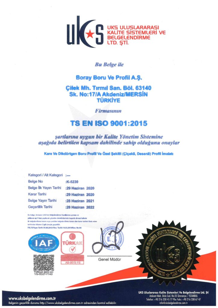 borayboru tse certificate